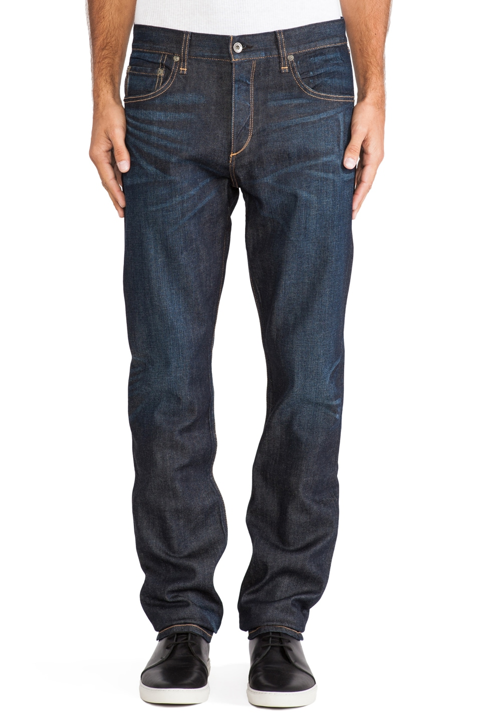 Rag & Bone Fit 3 Slim Jeans in Dark Vintage