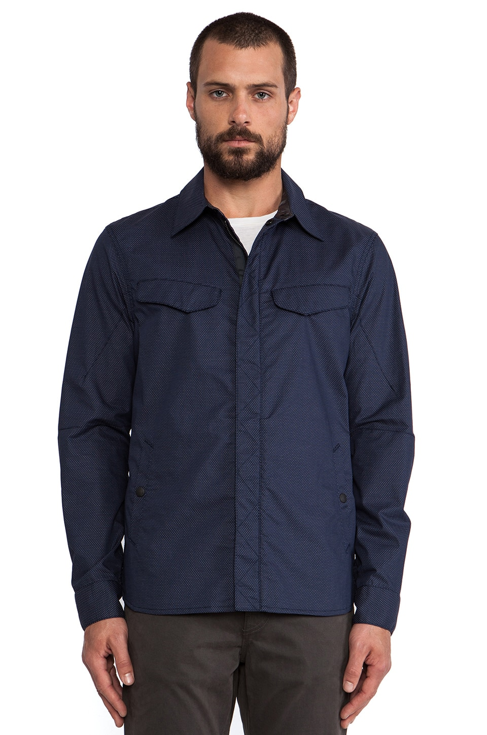 Rag & Bone Borkett Jacket in Navy