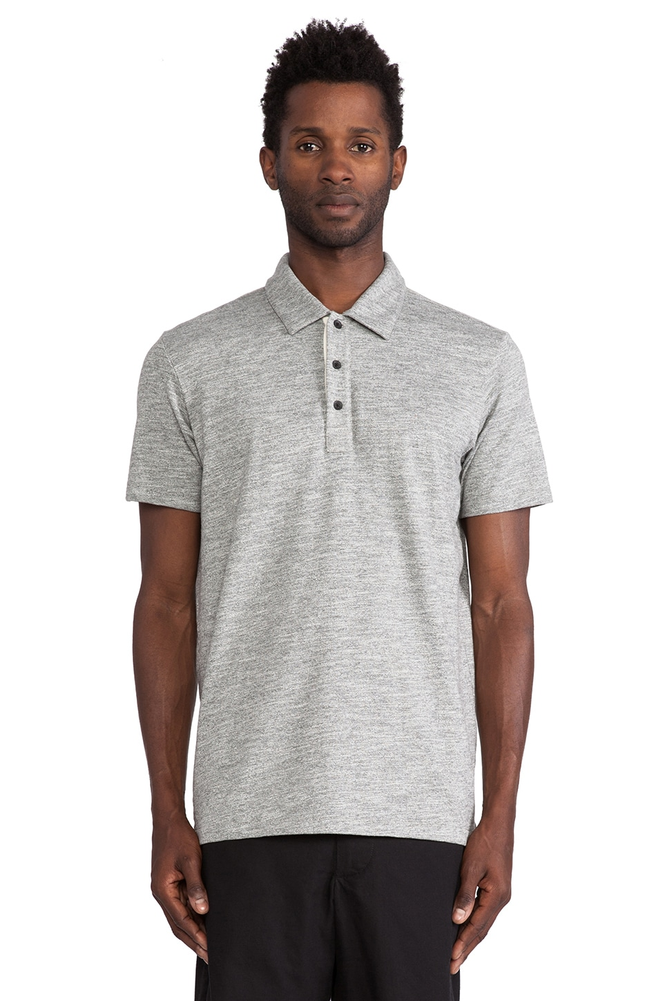 Rag & Bone Moulinex Polo in Grey