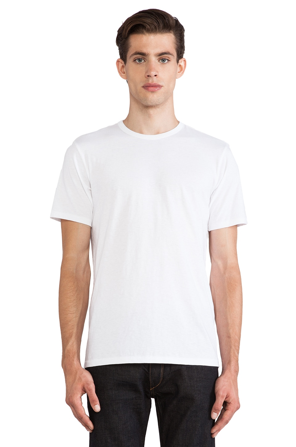 Rag & Bone Perfect Jersey Tee in White