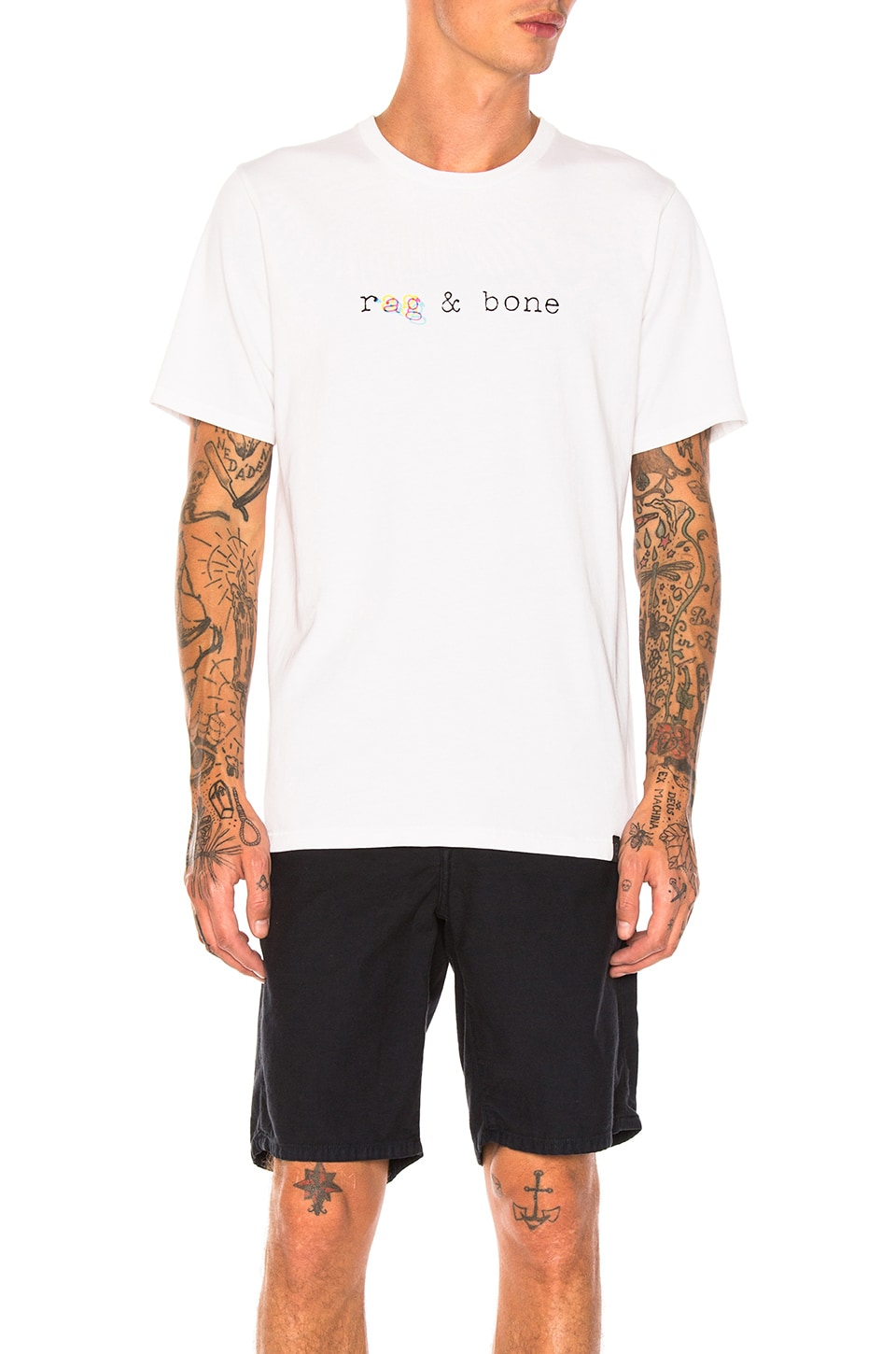 Photo of Glitch Logo Tee by Rag & Bone men clothes