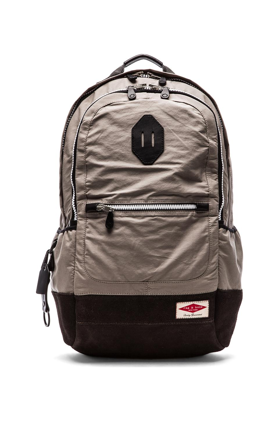 Rag & Bone Sporty Backpack in Grey