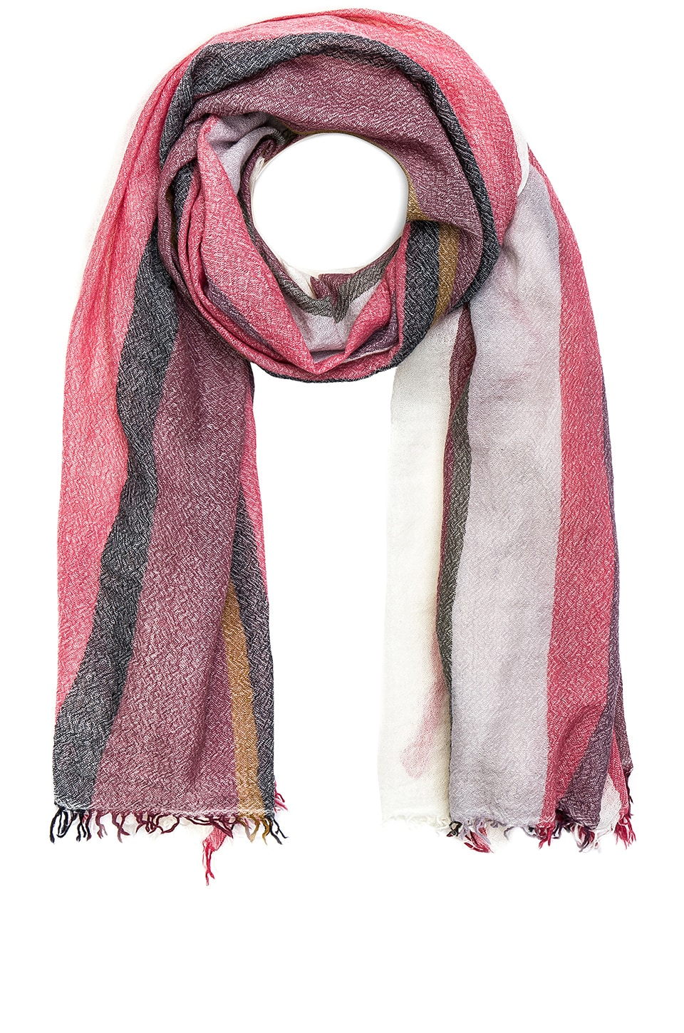 Rag & Bone Nassau Scarf in Ivory Multi