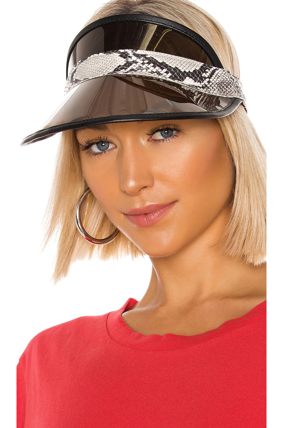 Rag & Bone Vegas Visor in Grey