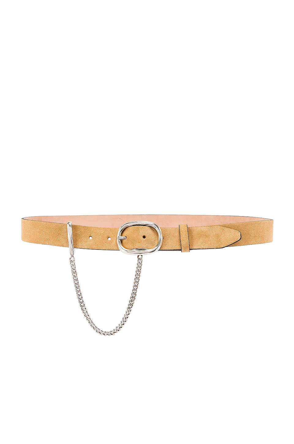 Rag & Bone Wingman Belt in Almond