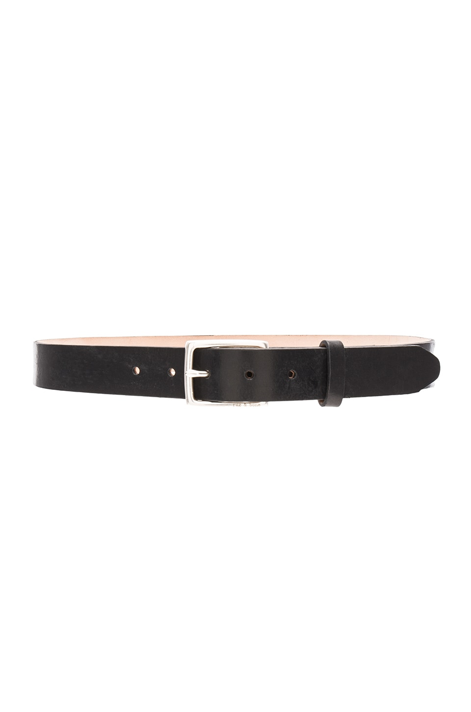 Rag & Bone Boyfriend Belt in Black