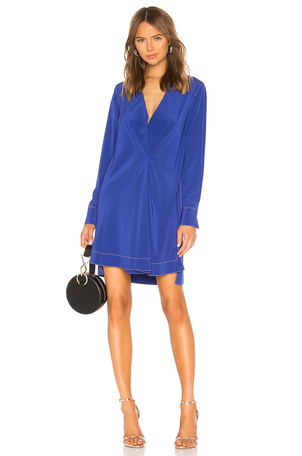 Rag & Bone Shields Dress in Electric Blue