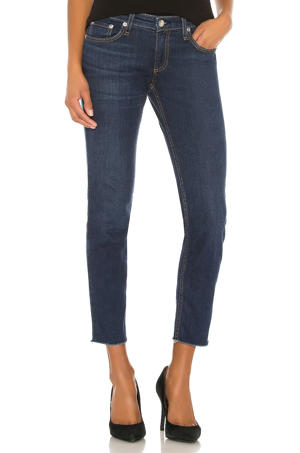Rag & Bone Dre Low Rise Slim Boyfriend in New Worn
