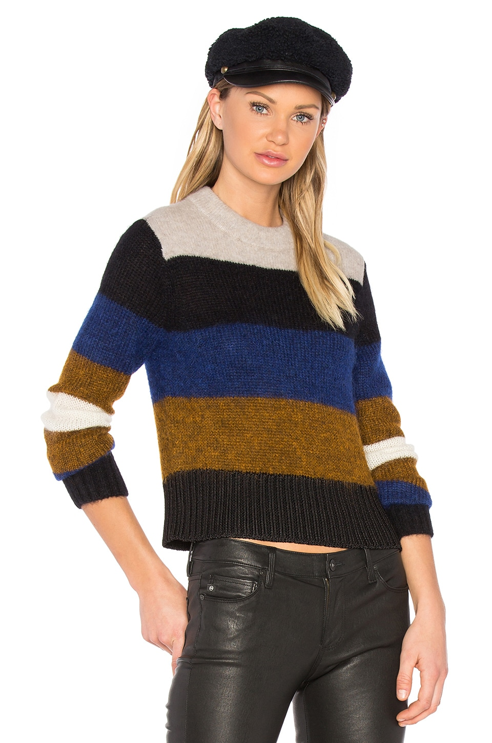 Rag & Bone Britton Sweater in Ash