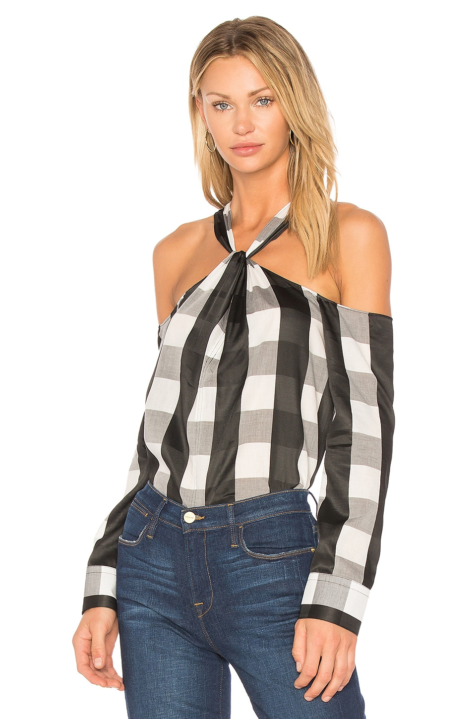 Collingwood Plaid Top by Rag & Bone