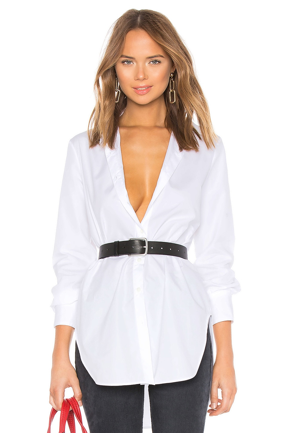 Rag & Bone Nightingale Shirt Dress in White