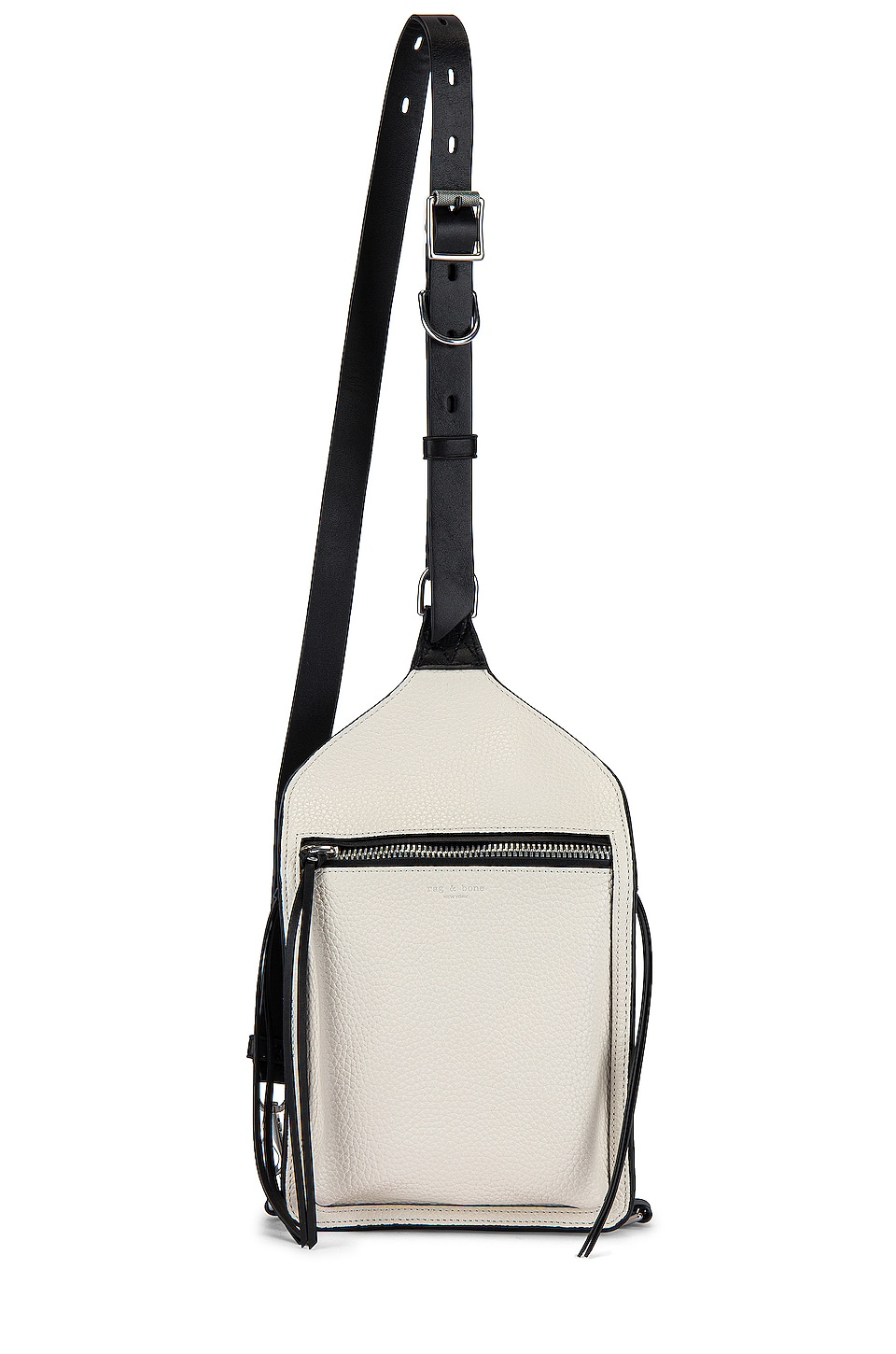 Rag & Bone Elliot Sling Pack in Antique White