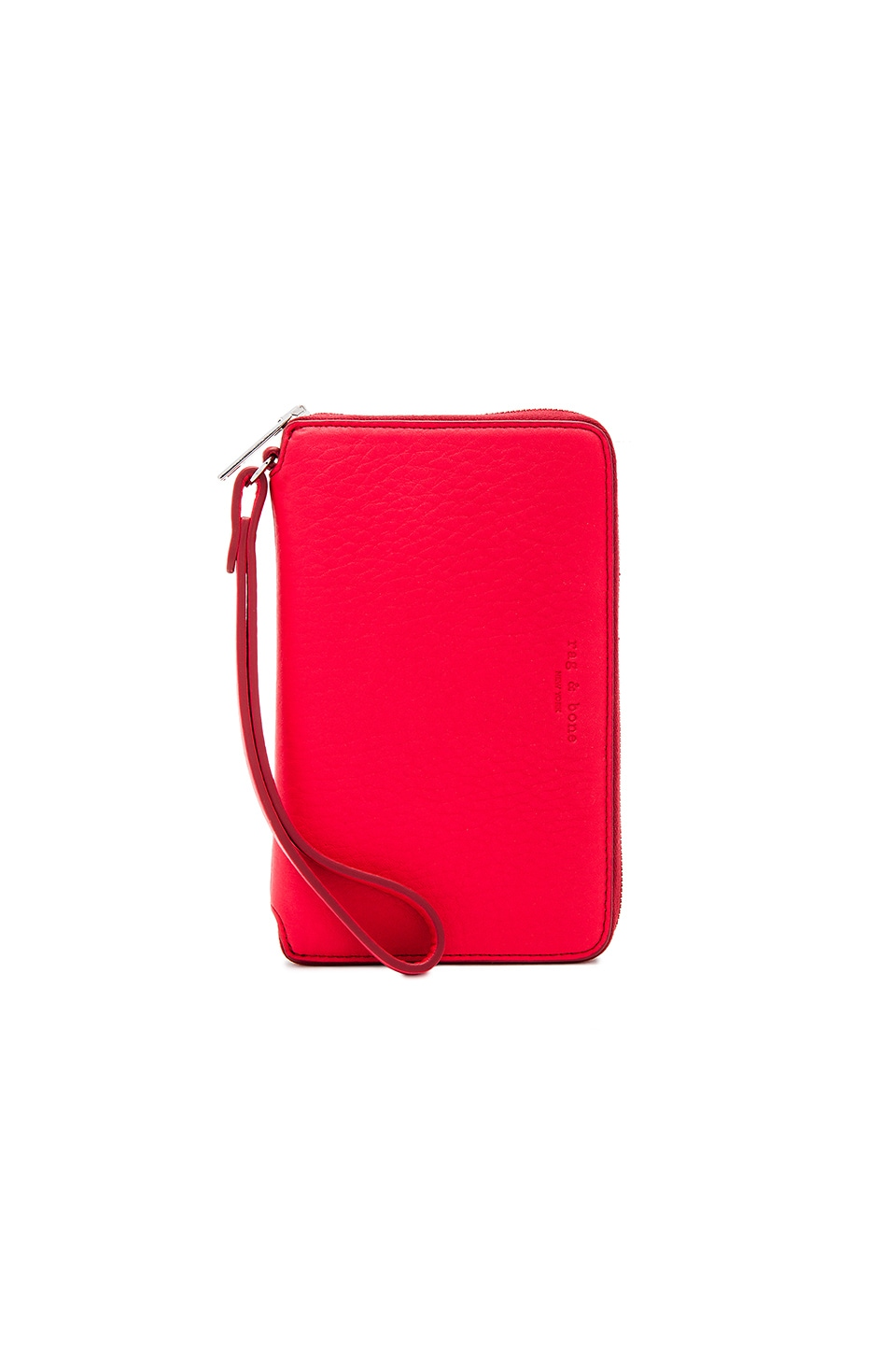 Rag & Bone Phone Wallet in Crimson