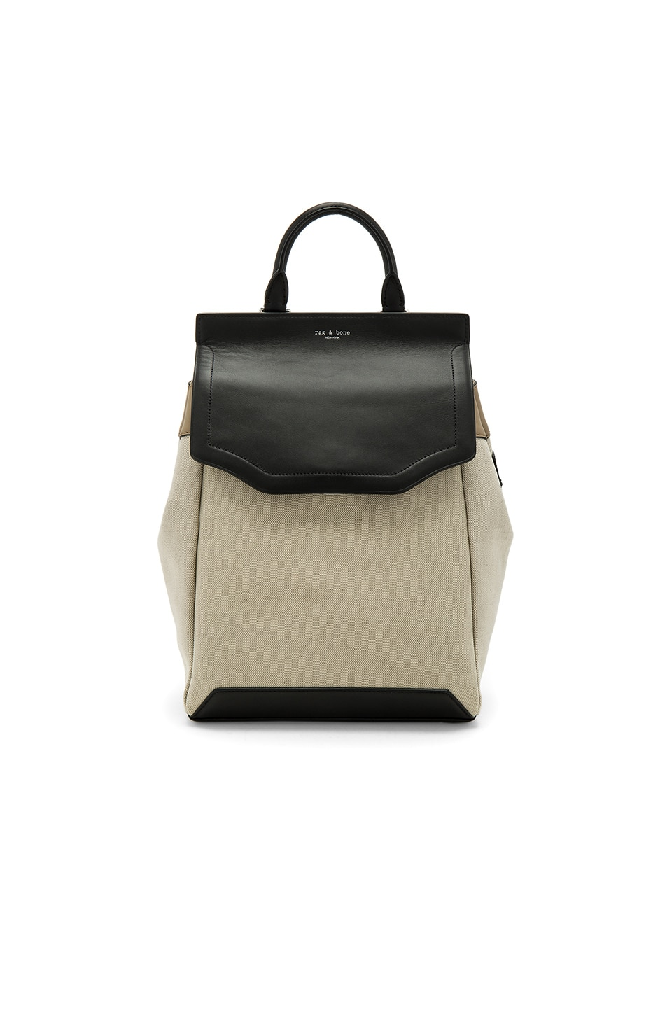 Rag & Bone Pilot Backpack II in Natural Canvas