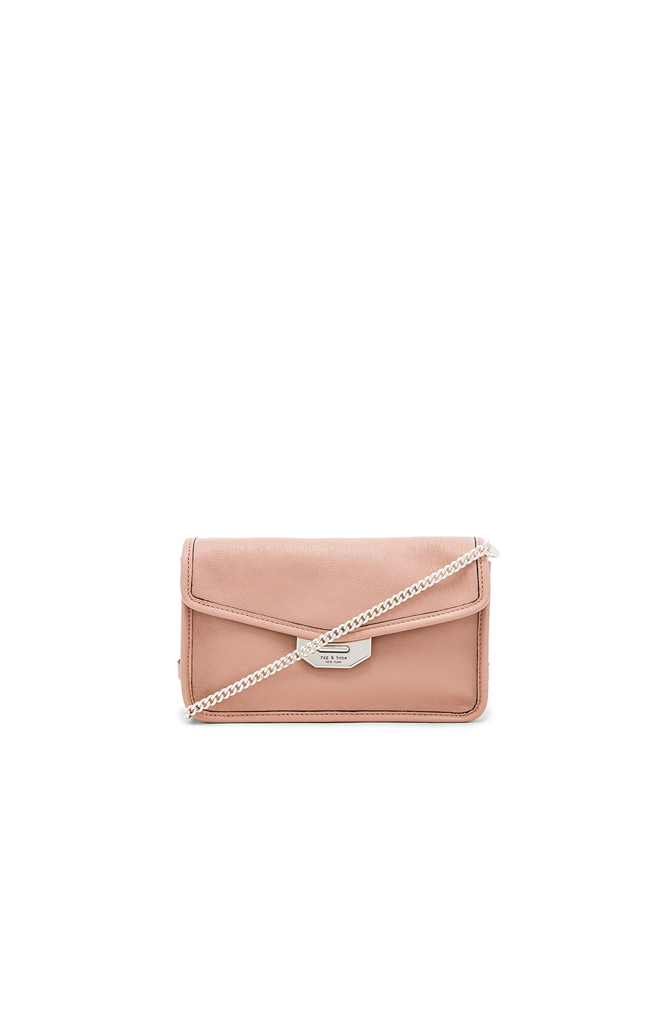 Rag & Bone Field Clutch Bag in Nude