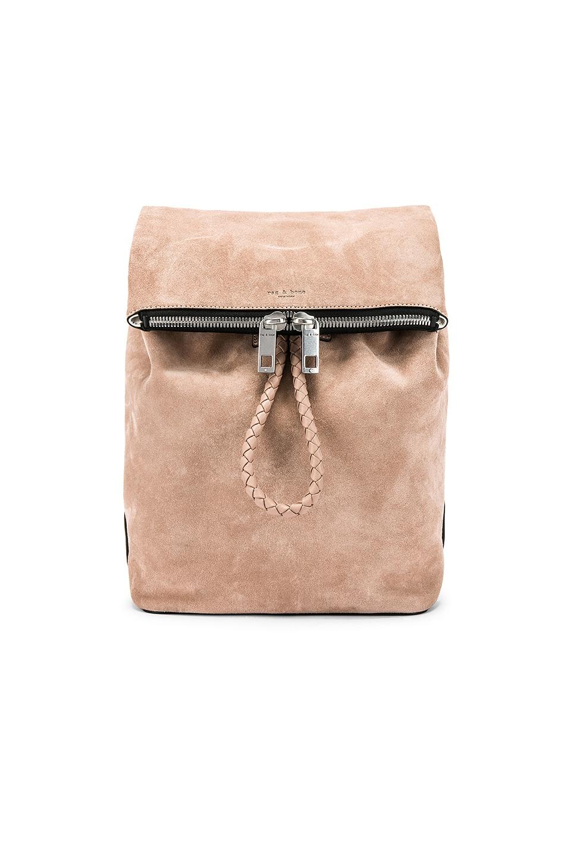 Rag & Bone Loner Backpack in Nude Suede