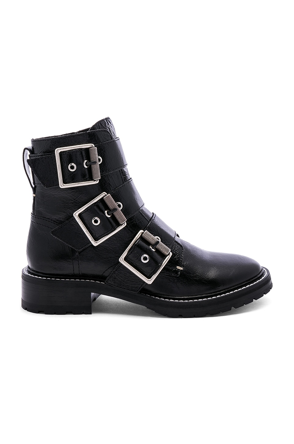 Rag & Bone Cannon Buckle Boot in Black