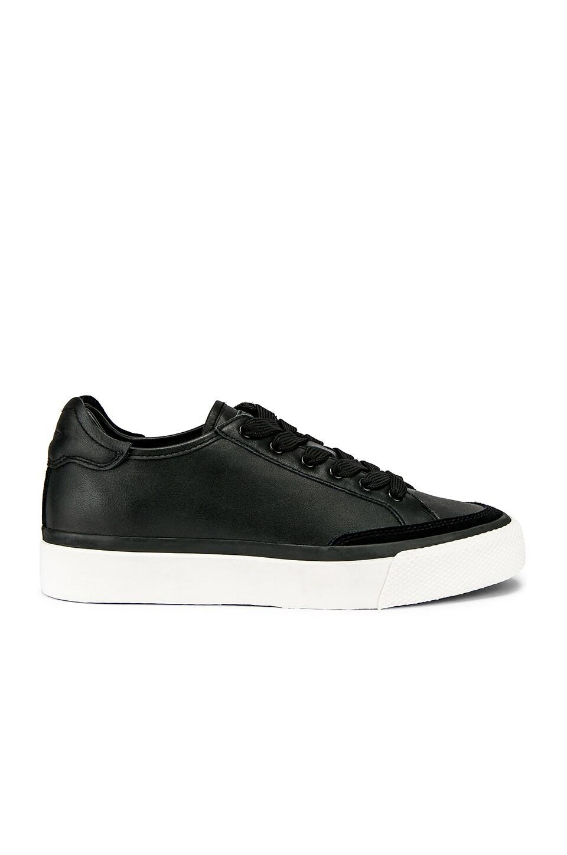 Rag & Bone Army Low Sneaker in Black Leather