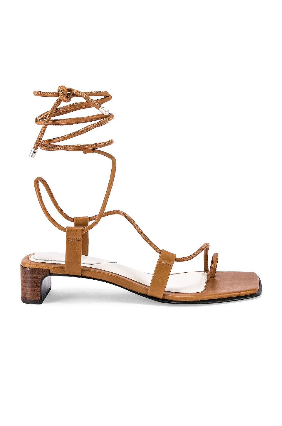 Rag & Bone Cindy Tie Sandal in Tan