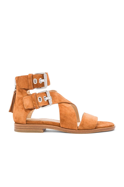 Rag & Bone Madeira Sandal in Tan Suede