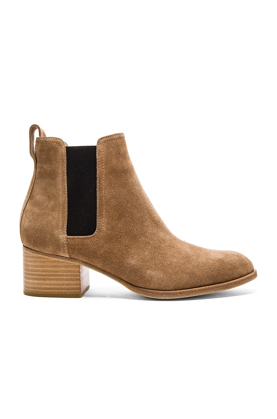Rag & Bone Walker Boot in Camel Suede