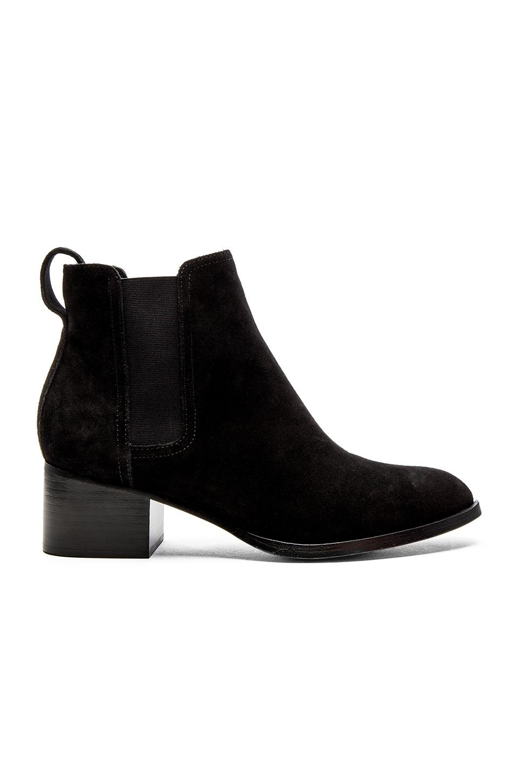 Rag & Bone Woman Leather Sneakers Black Size 36.5 Rag & Bone npfcO