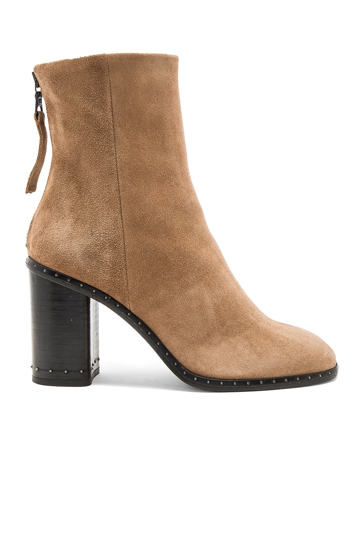 Rag & Bone Blyth Boot in Camel Suede