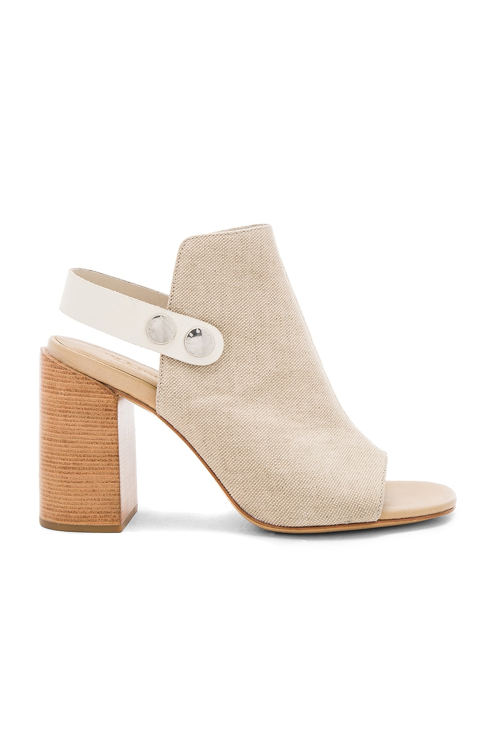 Rag & Bone Leigh Heel in Natural Canvas