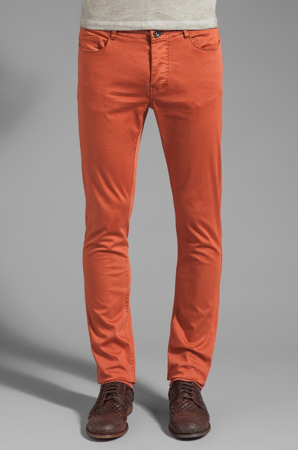 Rogue Western Pocket Chino Pant in Habiscus