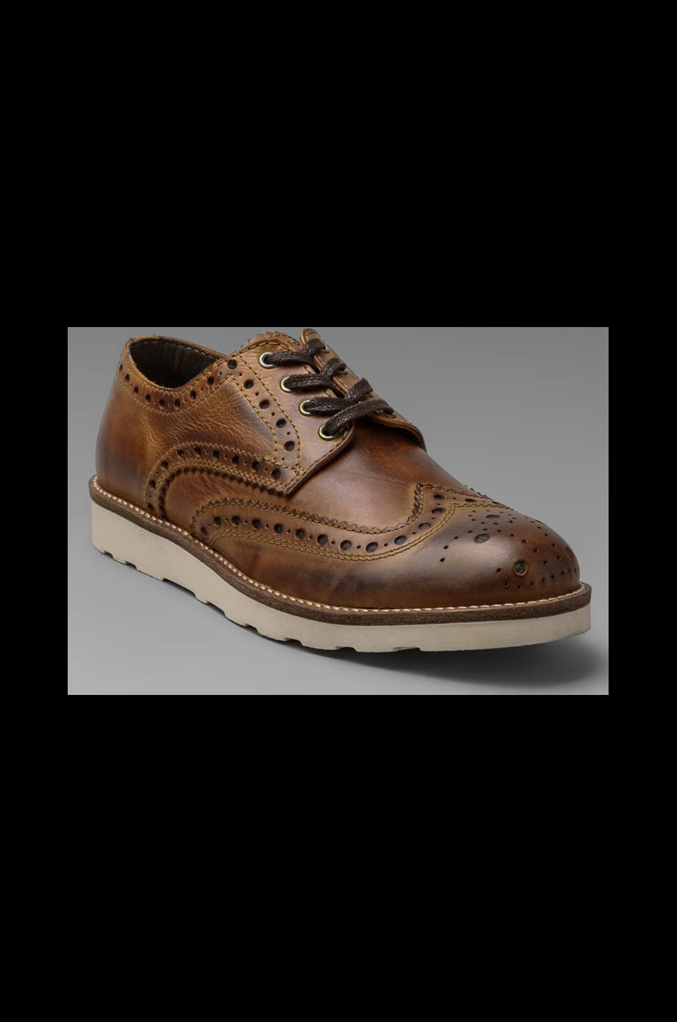 Rogue Henry 22 Leather Brogue in Tan