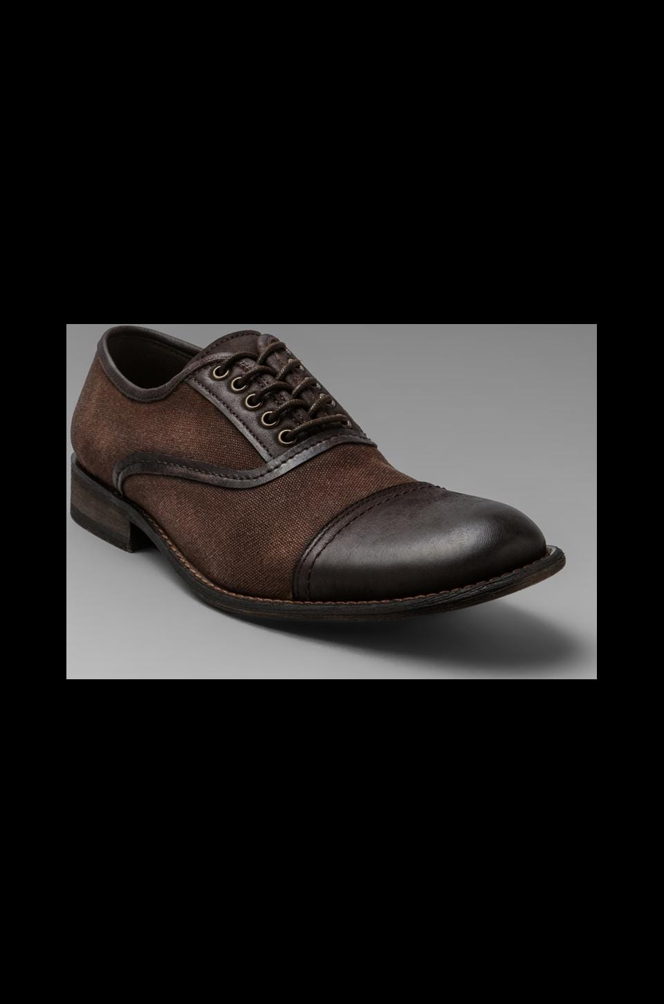 Rogue Best Man Cap Toe Oxford in Brown