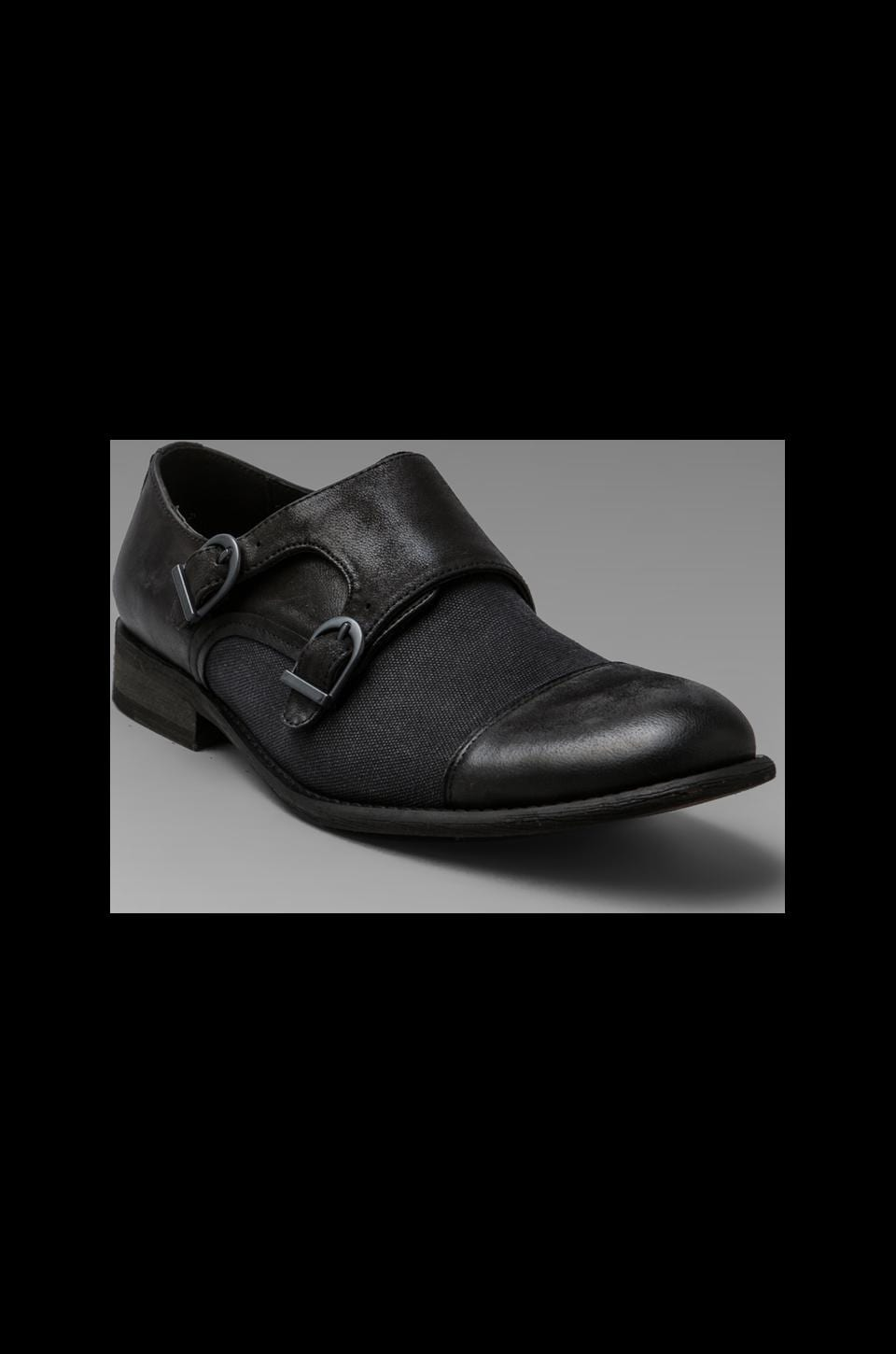 Rogue Double Trouble Double Monk Strap in Black