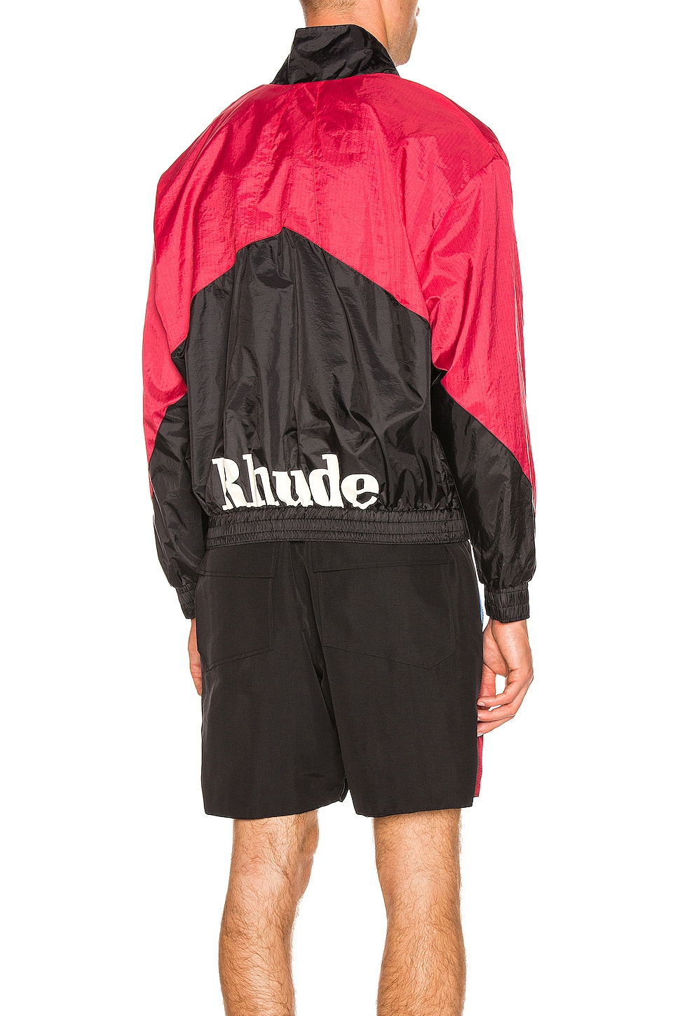 Rhude Flight Jacket in Black & Red