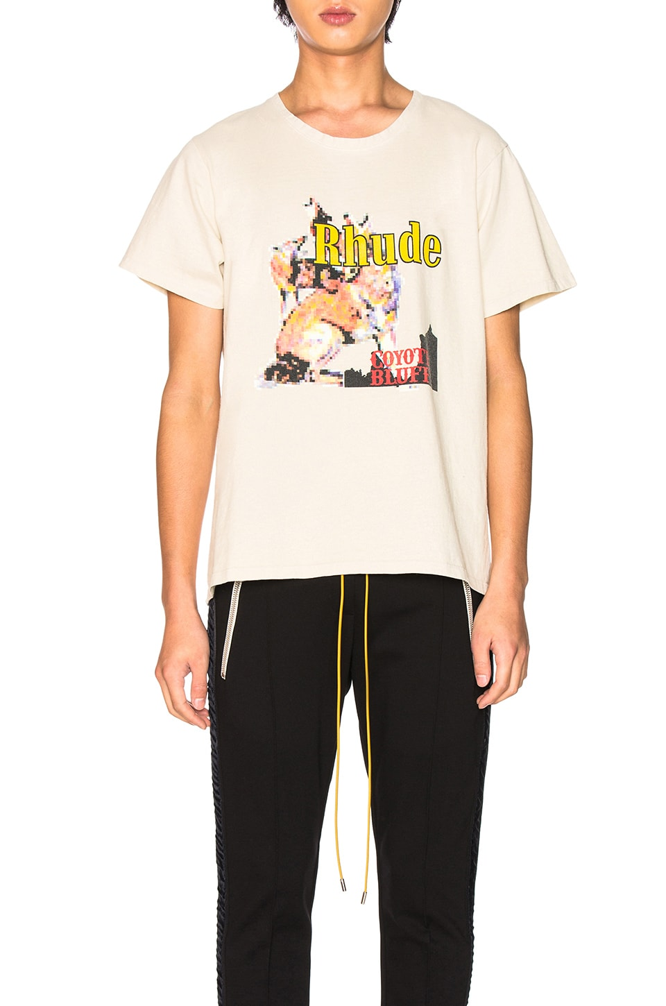 Rhude T-SHIRT COYOTE