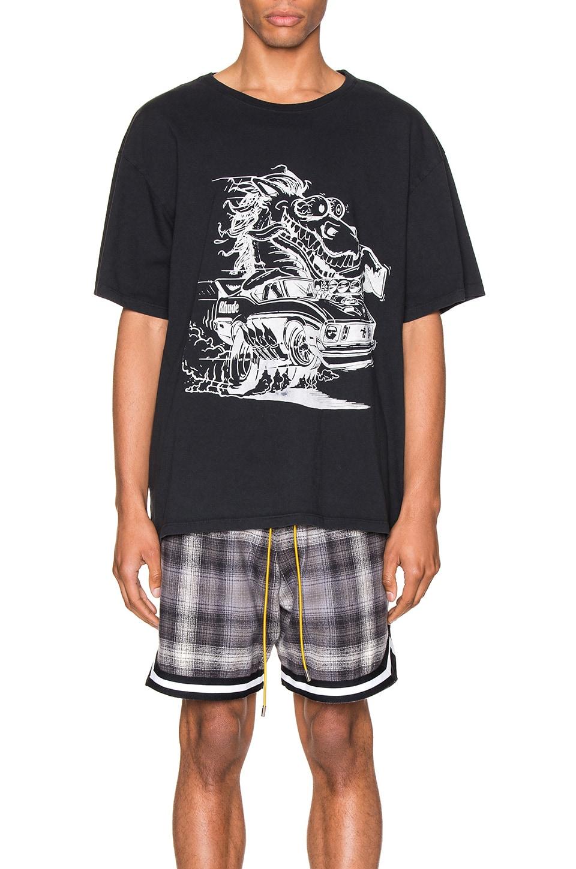 Rhude HORSEPOWER 티셔츠