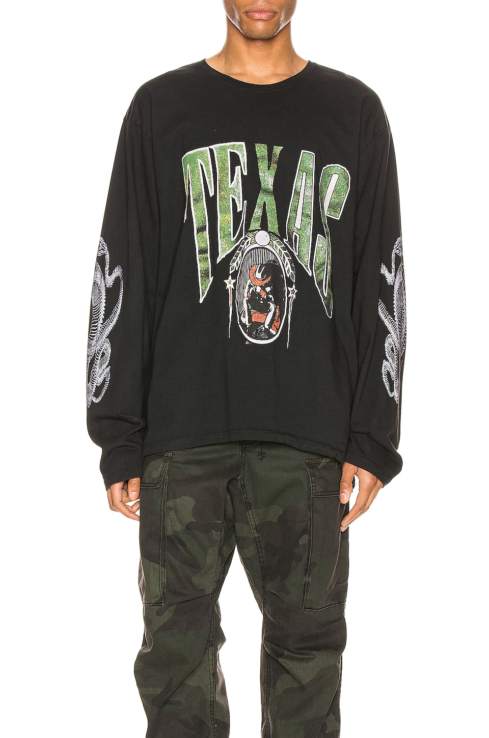 Rhude T-SHIRT GRAPHIQUE TEXAS