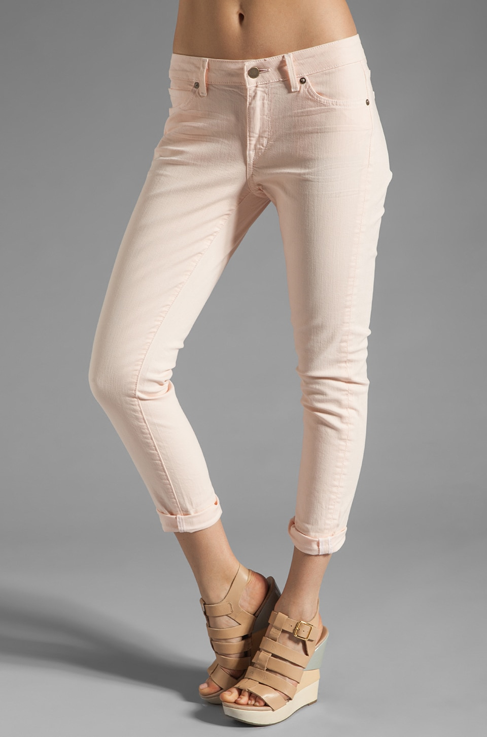 Rich & Skinny Relaxed Ankle Crop in Buns