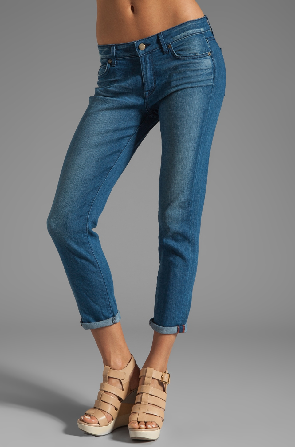 Rich & Skinny Relaxed Ankle Crop in Riley