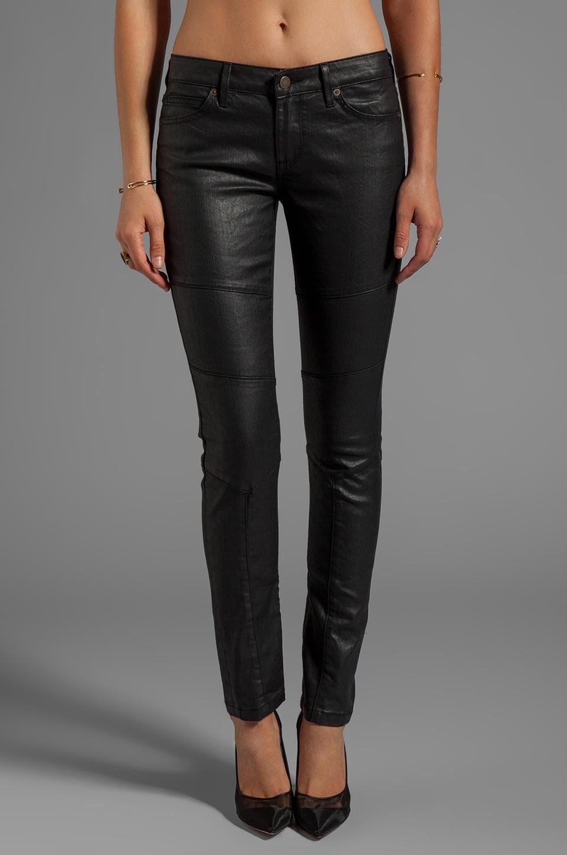 Rich & Skinny Phatomless Skinny in Coated Black