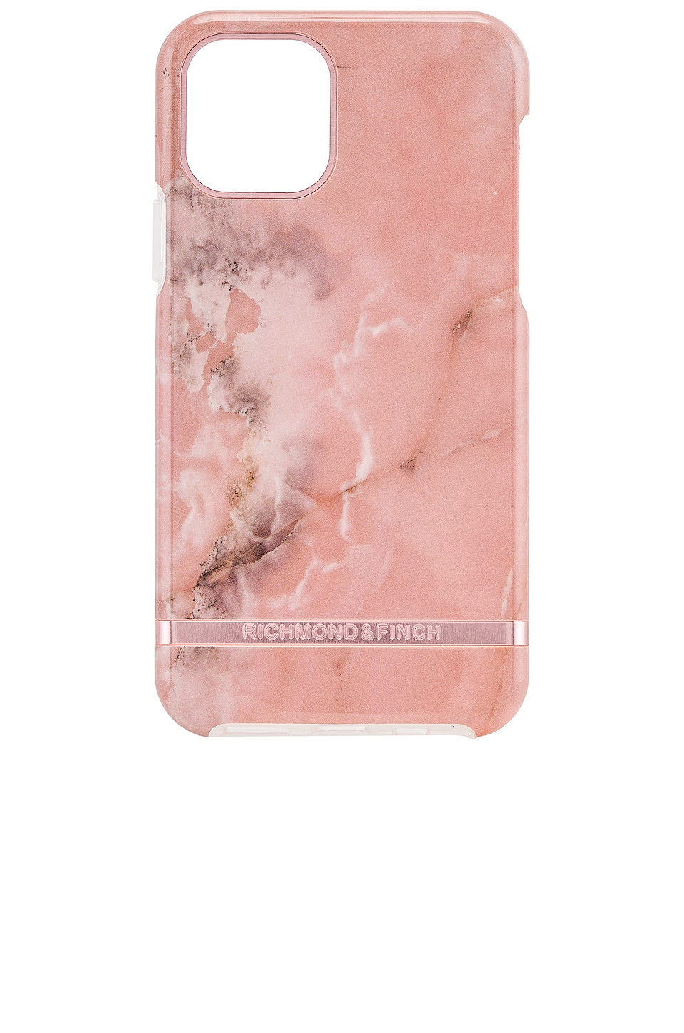 Richmond & Finch Black Marble iPhone 11 Pro Case in Pink Marble