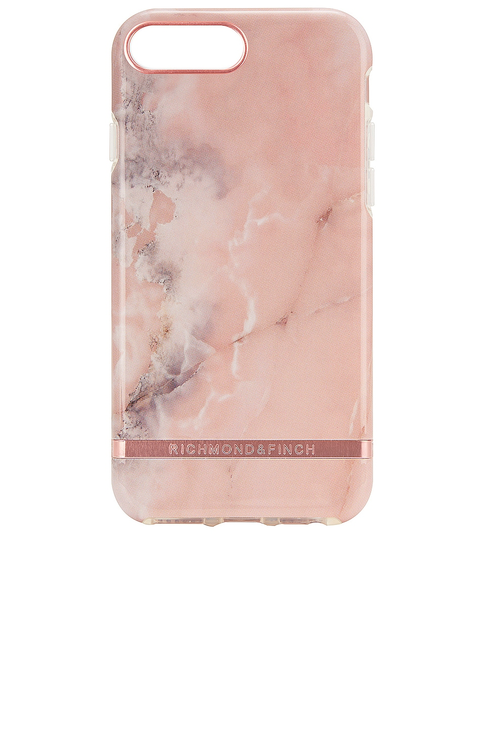 Richmond & Finch Pink Marble iPhone 6/7/8 Plus Case in Pink Marble