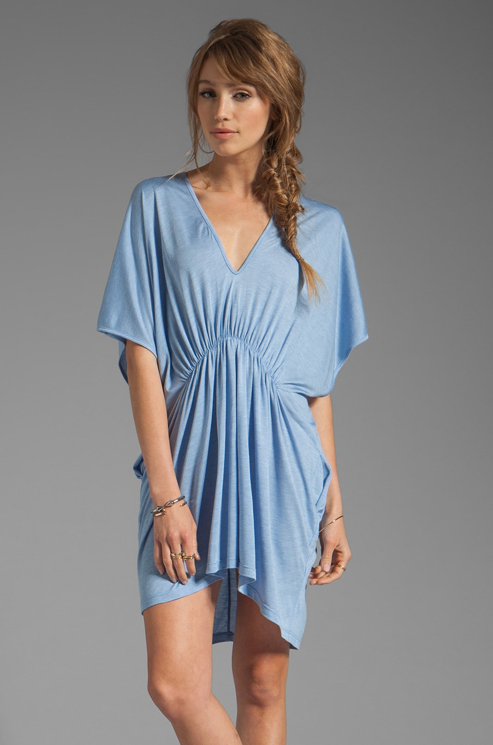 Riller & Fount Missy Tunic Dress in Pacifico