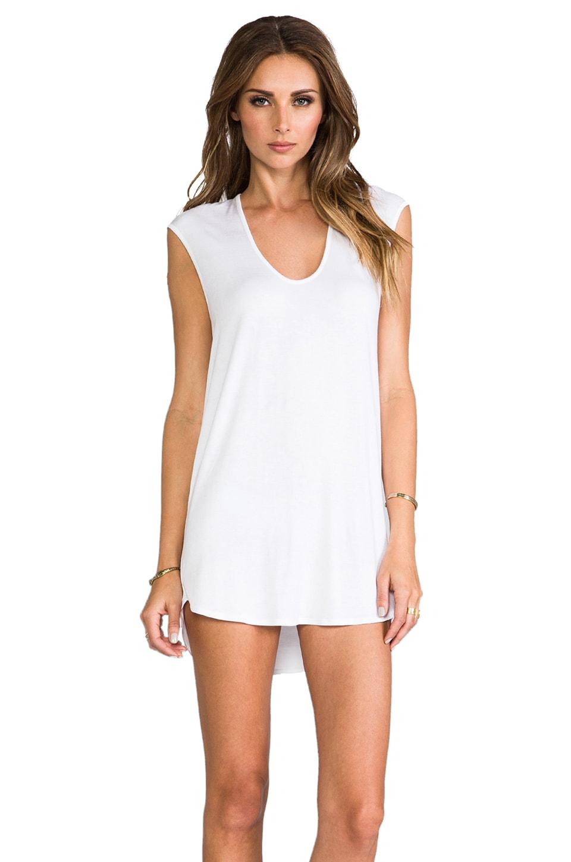Riller & Fount Sammy Cap Sleeve Tunic in White