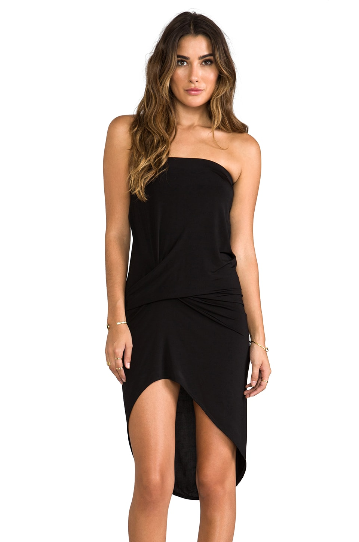 Riller & Fount Ramone Dress in Slinky Onyx