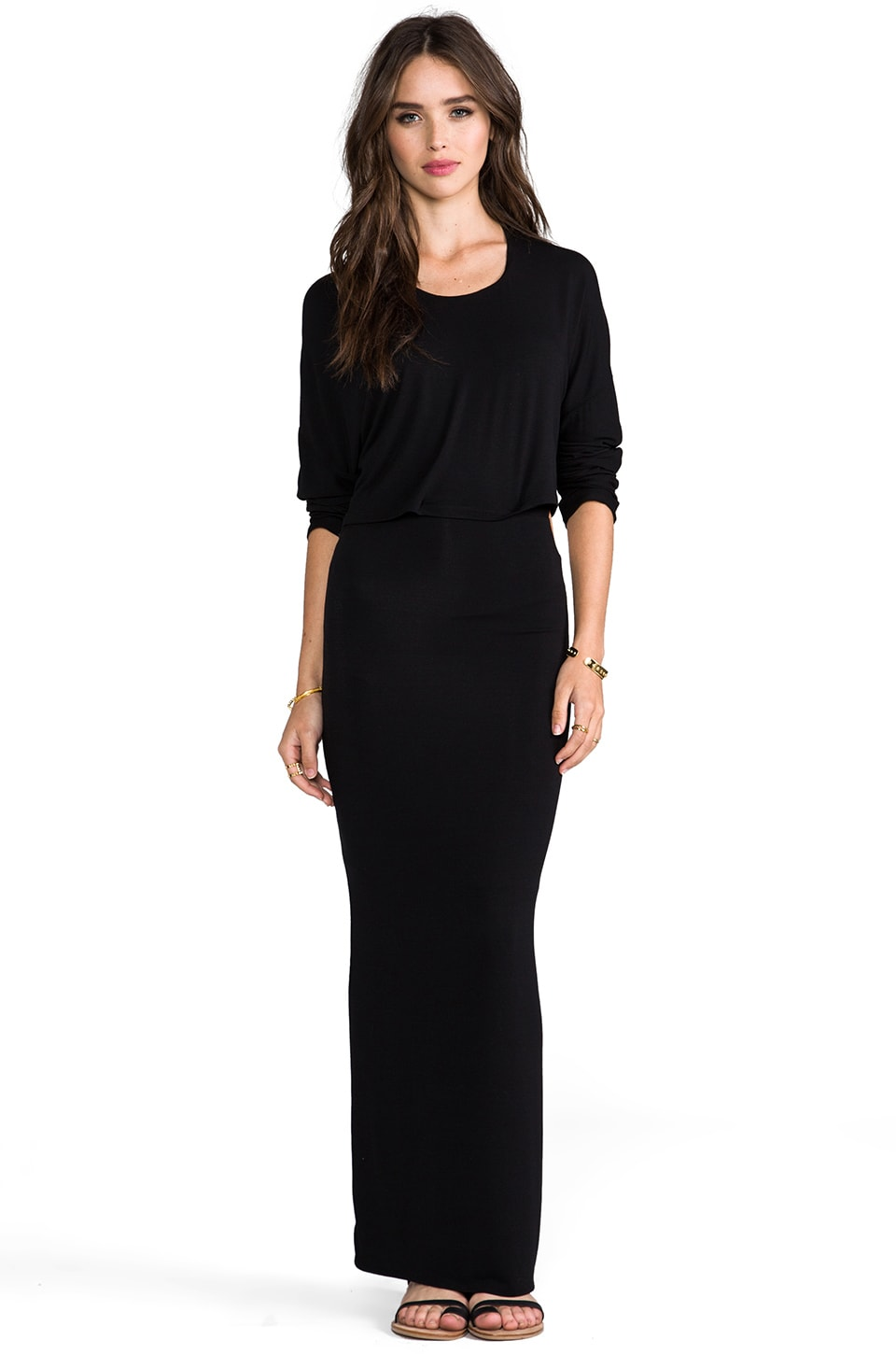Riller & Fount Kurt Dress in Black
