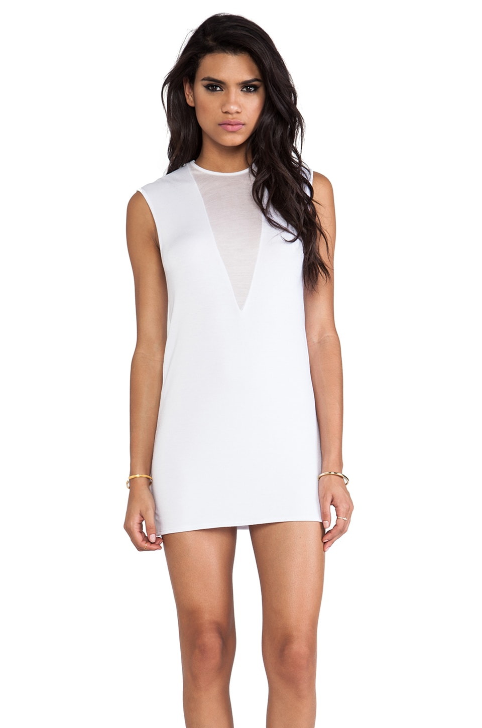 Riller & Fount Nero Dress in White