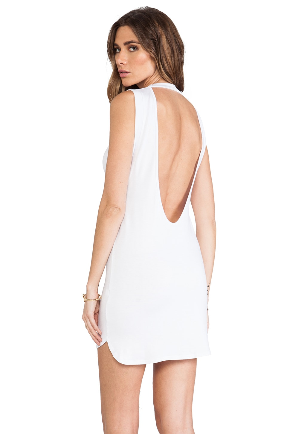 Riller & Fount Jack Dress in White