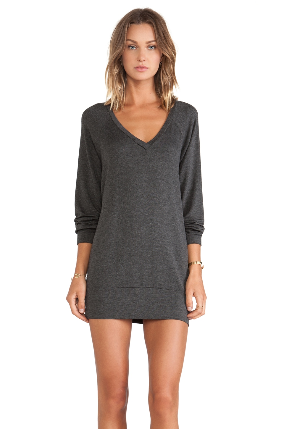Riller & Fount Emma Sweatshirt Tunic in Stud