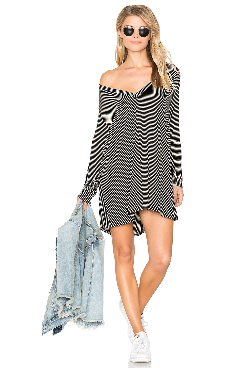 Riller & Fount Kevin Tunic in Black Bean