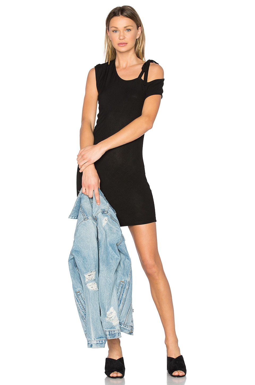 Kris Cold Shoulder Mini Dress by Riller & Fount